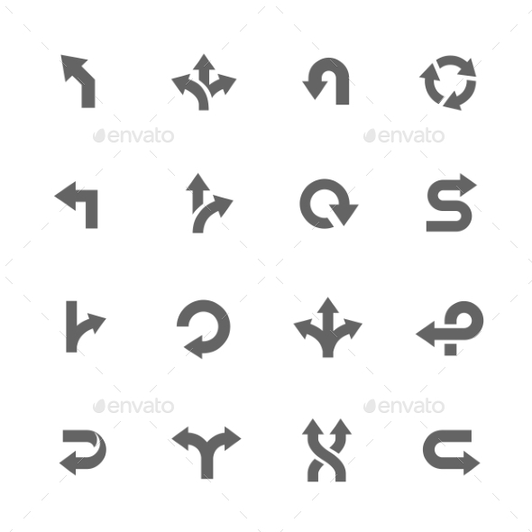 GraphicRiver Direction Icons 11103581