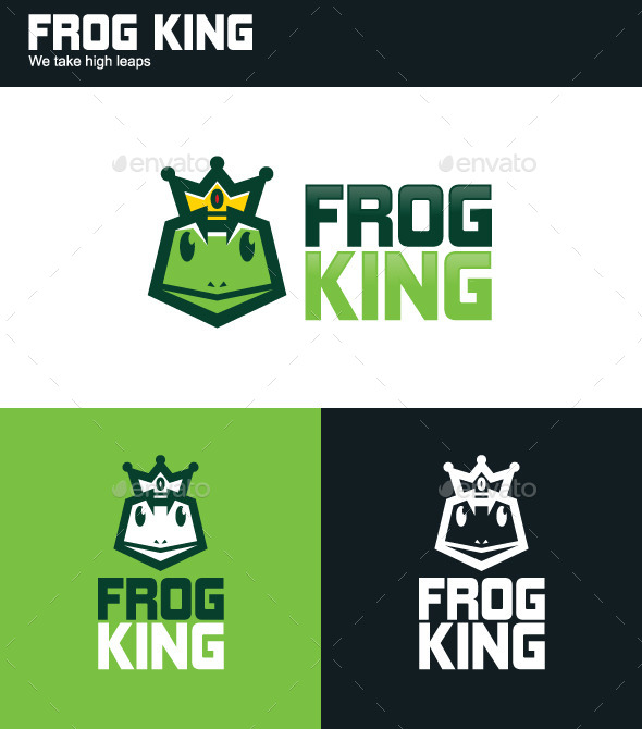 GraphicRiver Frog King Logo 11103705