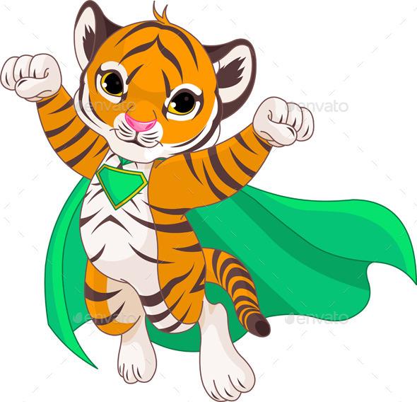 GraphicRiver Super Tiger 11103785
