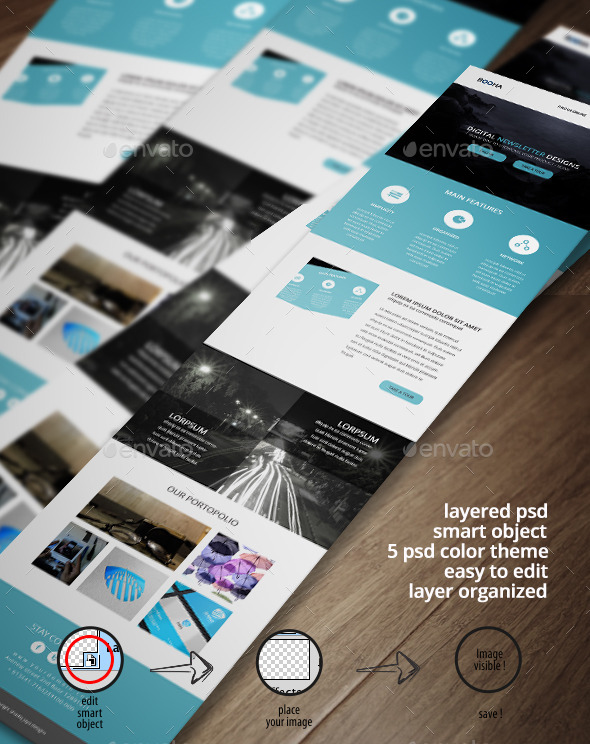 GraphicRiver Corporate Email Template E-newsletter 11045361