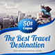 Travel Agency Web & Facebook Banners Ads - GraphicRiver Item for Sale