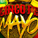 Cinco De Mayo Flyer Template #2 - GraphicRiver Item for Sale