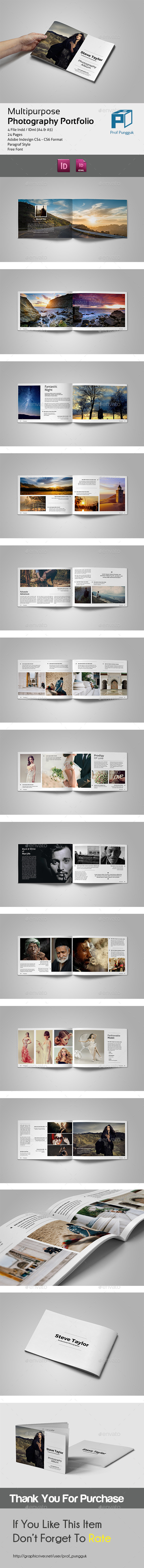 GraphicRiver Photography Portfolio A4 & A5 11104112
