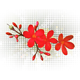 Red Flower - GraphicRiver Item for Sale