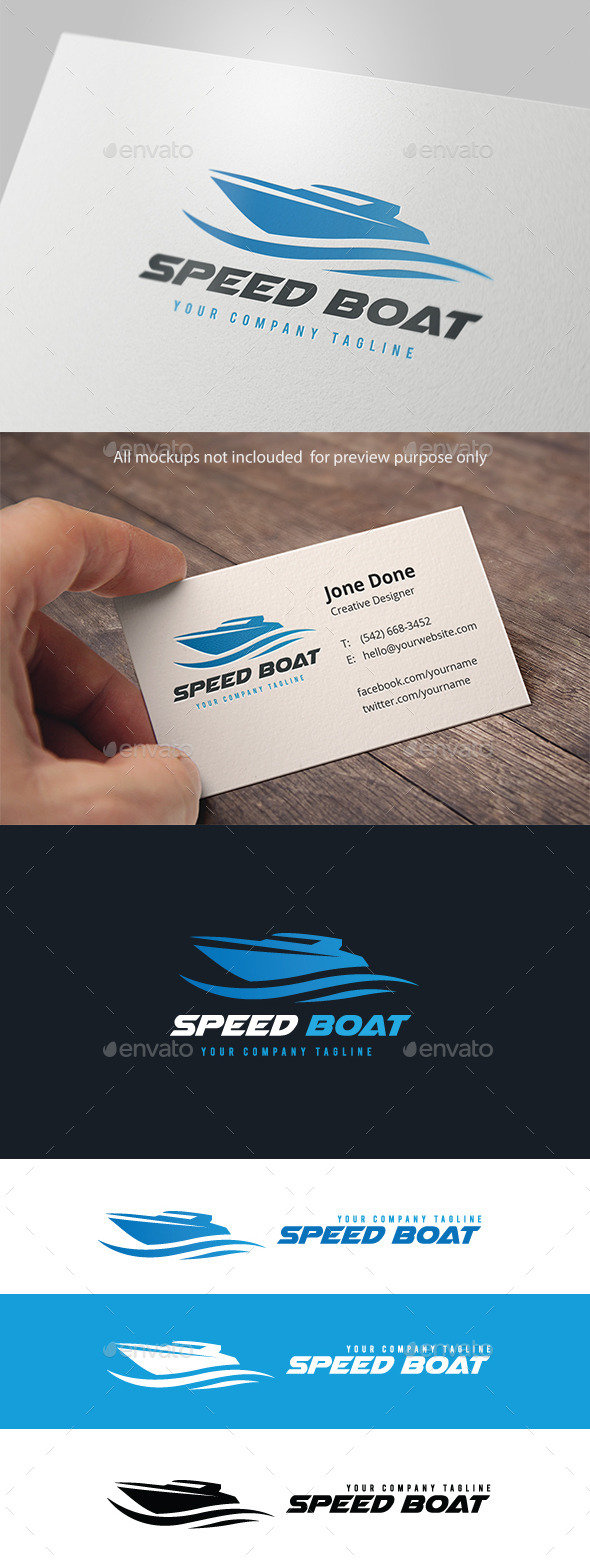 GraphicRiver Speed Boat 11104558