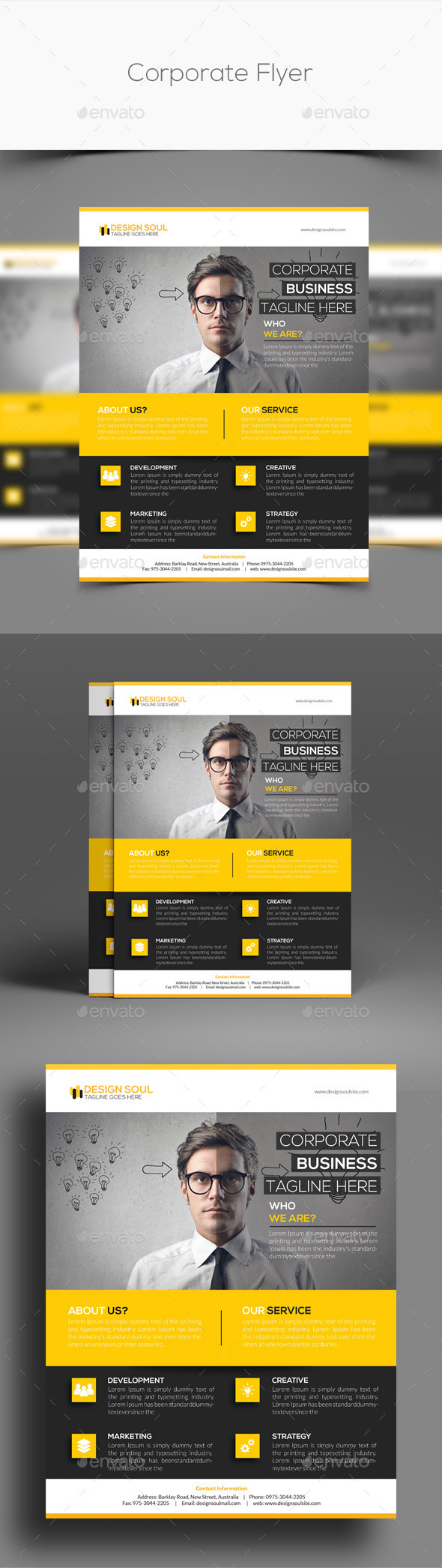 GraphicRiver Corporate Flyer 11104567