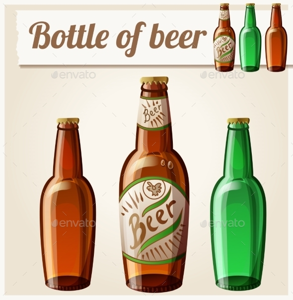 GraphicRiver Bottle of Beer 11104838