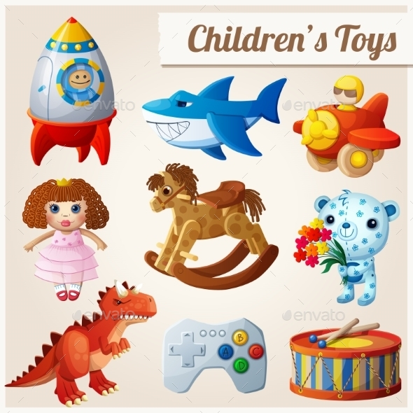GraphicRiver Toys 11104887