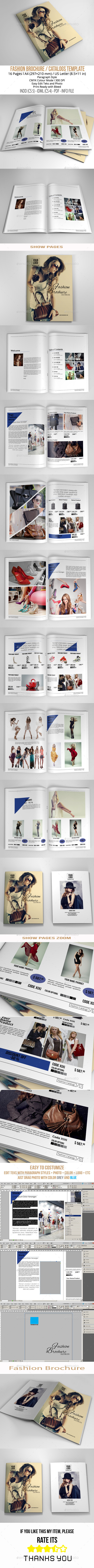 GraphicRiver Fashion Brochure A4 US Letter 11104898