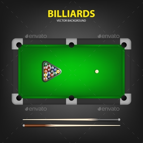 GraphicRiver Billiard Game 11105449