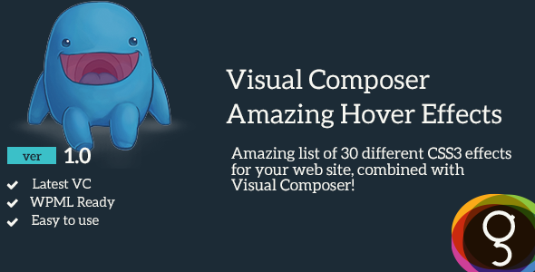CodeCanyon Visual Composer Amazing Hover Effects 11105451