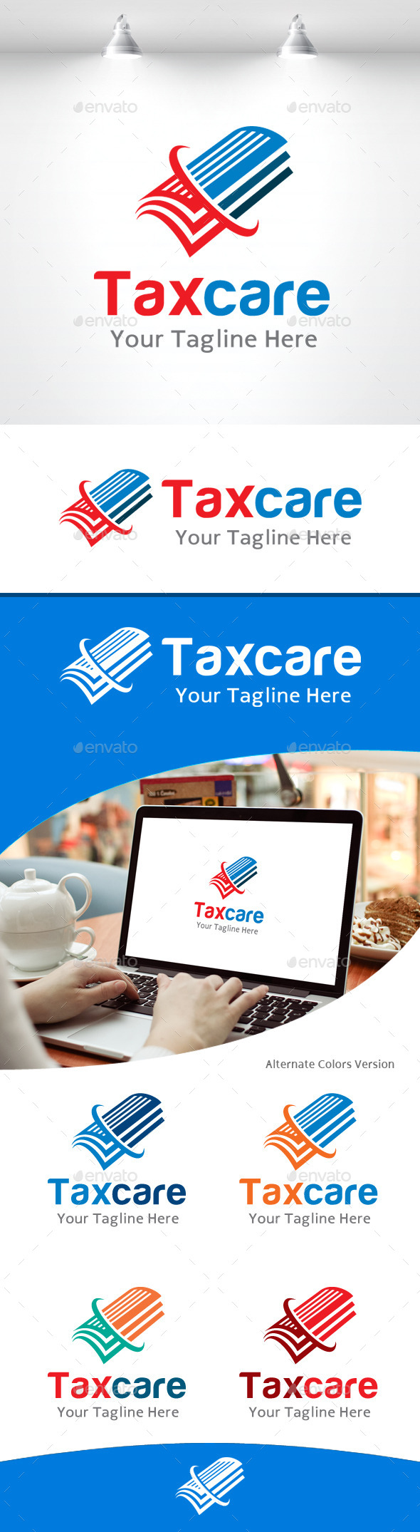 GraphicRiver Taxe Care Logo 11105756