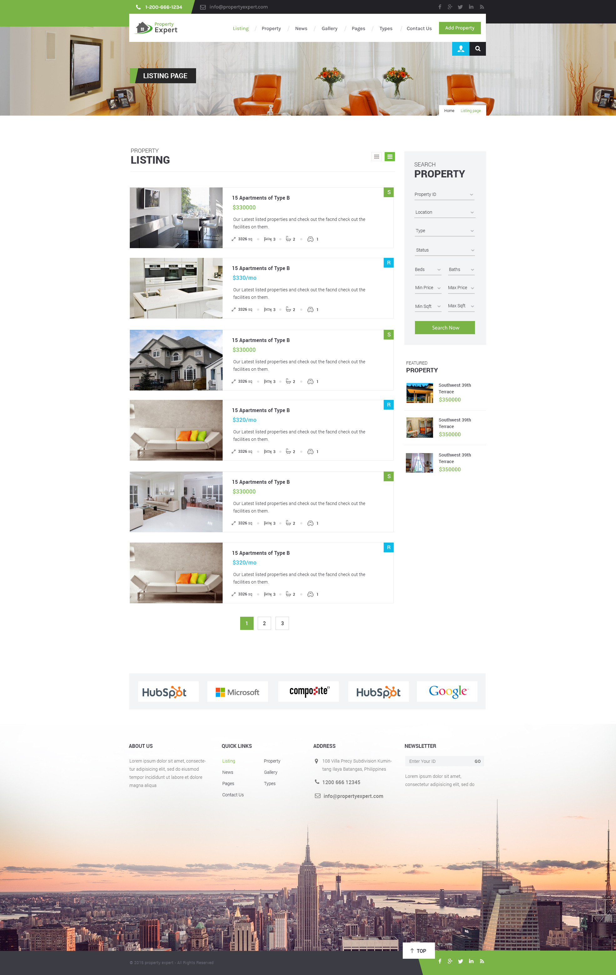 property expert real estate psd template by wpmines themeforest screenshots 05 listing list jpg