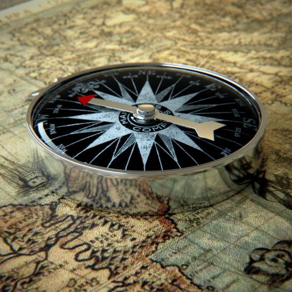 3DOcean 3D Compass 11106177