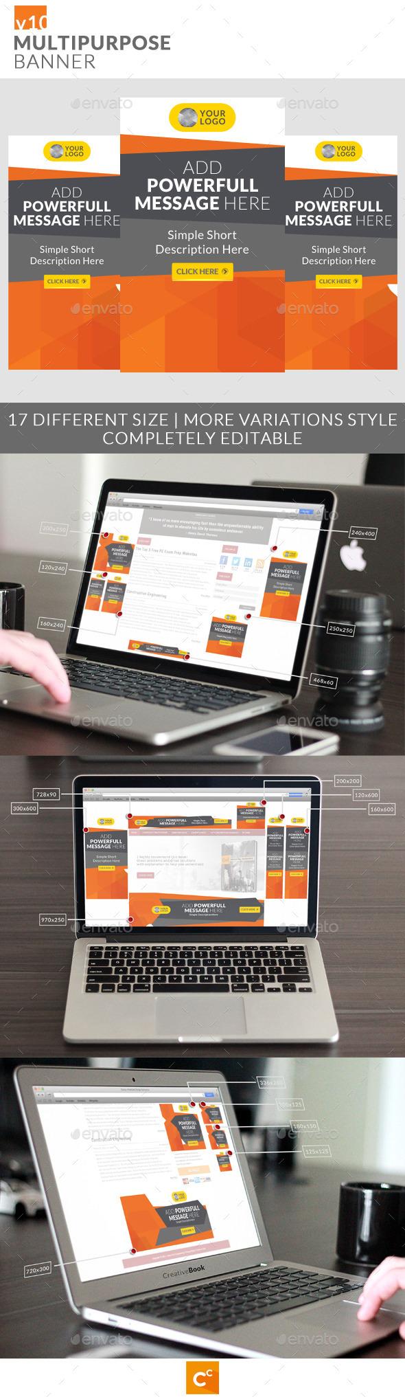 GraphicRiver Multipurpose Banner Ads v10 11106361