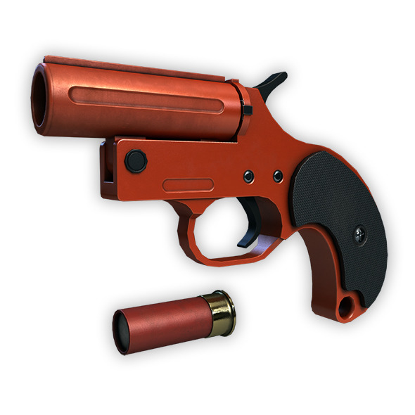 Flare Gun - 3DOcean Item for Sale