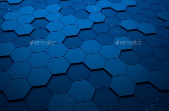 GraphicRiver Abstract 3D Rendering of Futuristic Surface 11106619