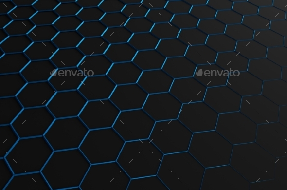 GraphicRiver Abstract 3D Rendering of Futuristic Surface 11106781