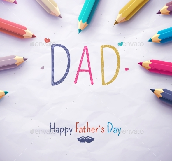 GraphicRiver Happy Father s Day 11107624