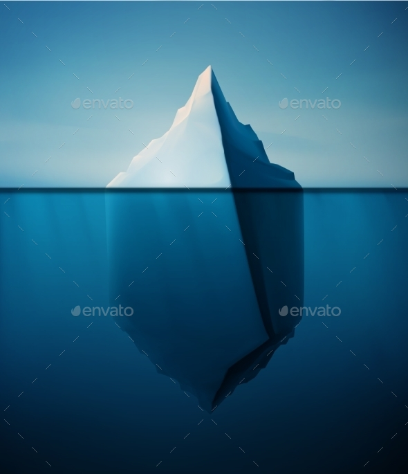 GraphicRiver Lonely Iceberg 11107626