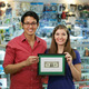 Portrait Of Happy Shop Owners Showing First Dollar Earning - PhotoDune Item for Sale