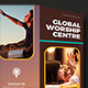 Global Worship Church Trifold Brochures - GraphicRiver Item for Sale
