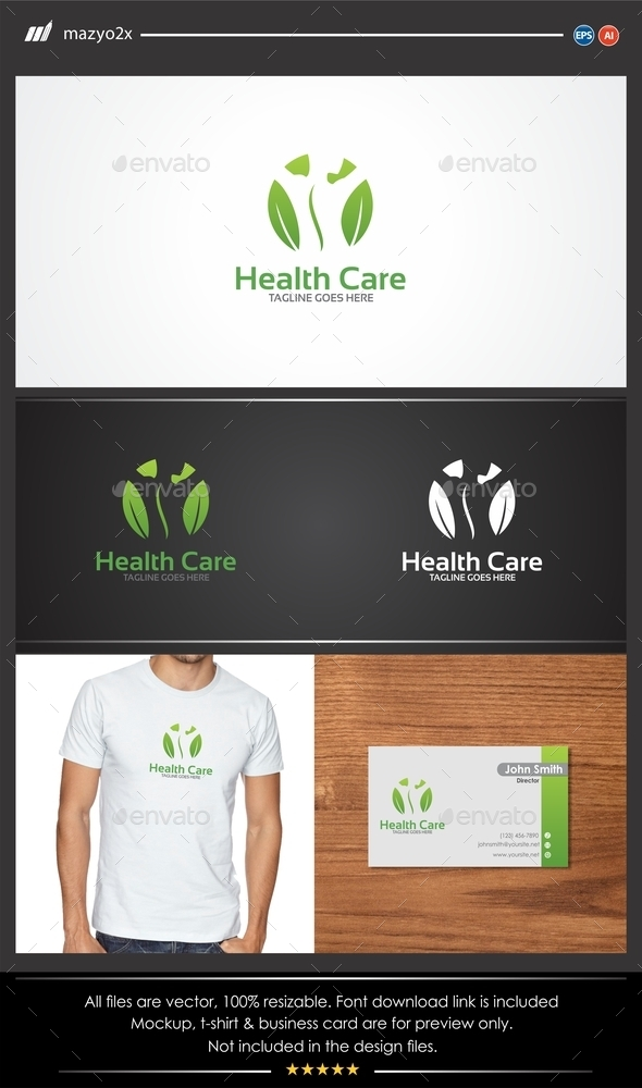 GraphicRiver Spinal Center Logo 11107945