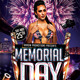 Memorial Day Weekend Flyer Template - GraphicRiver Item for Sale