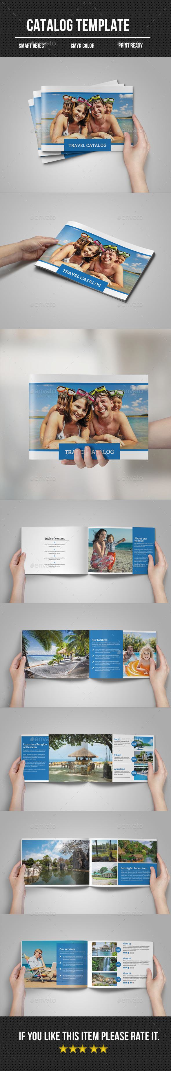 GraphicRiver Travel Catalog Brochure 11108307
