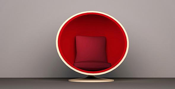 3DOcean Egg style chair 11085232