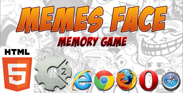 CodeCanyon Memes Face HTM5 Memory Game Mobile Optimized 11108471