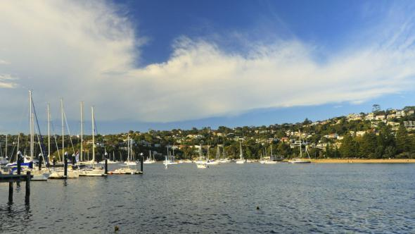 VideoHive Yachts in the Middle Harbour Sydney 11108521