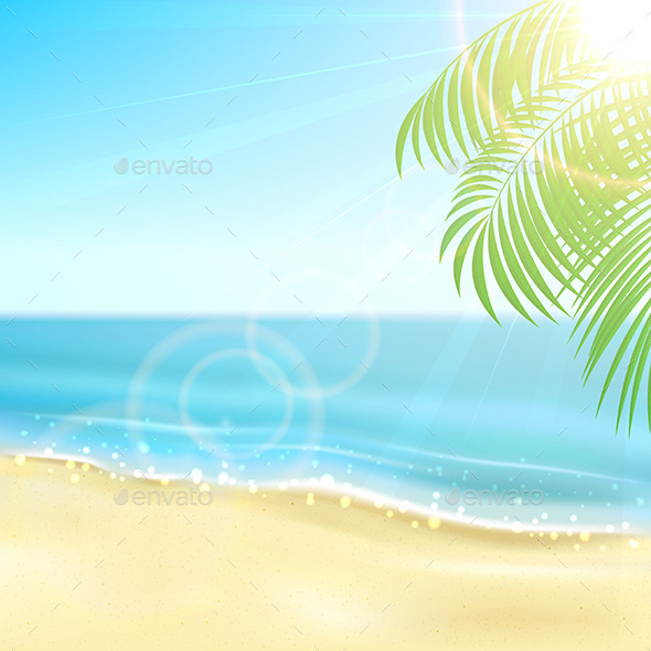 GraphicRiver Tropical Background 11108660