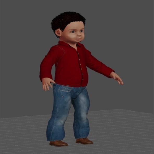 3DOcean boy 3D 11108842