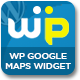 WP GOOGLE MAPS WIDGET - CodeCanyon Item for Sale