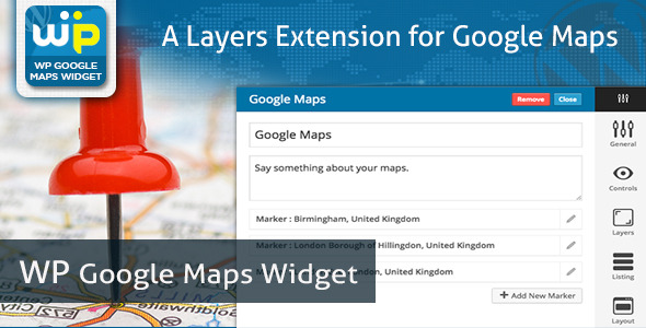 CodeCanyon WP GOOGLE MAPS WIDGET 11109123