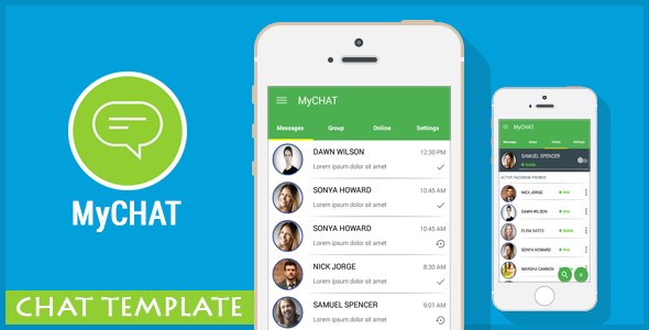 CodeCanyon MyCHAT Chat Messenger Template AdMob 11109225