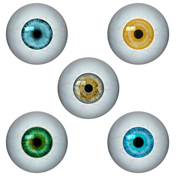 3DOcean Realistic Eye Ball 11109342
