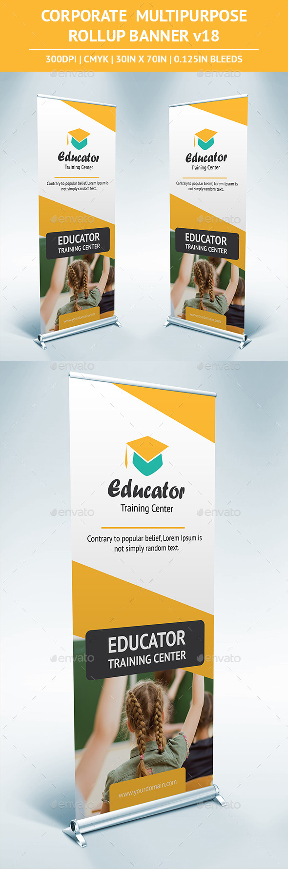 GraphicRiver Rollup Banner vol18 11109383