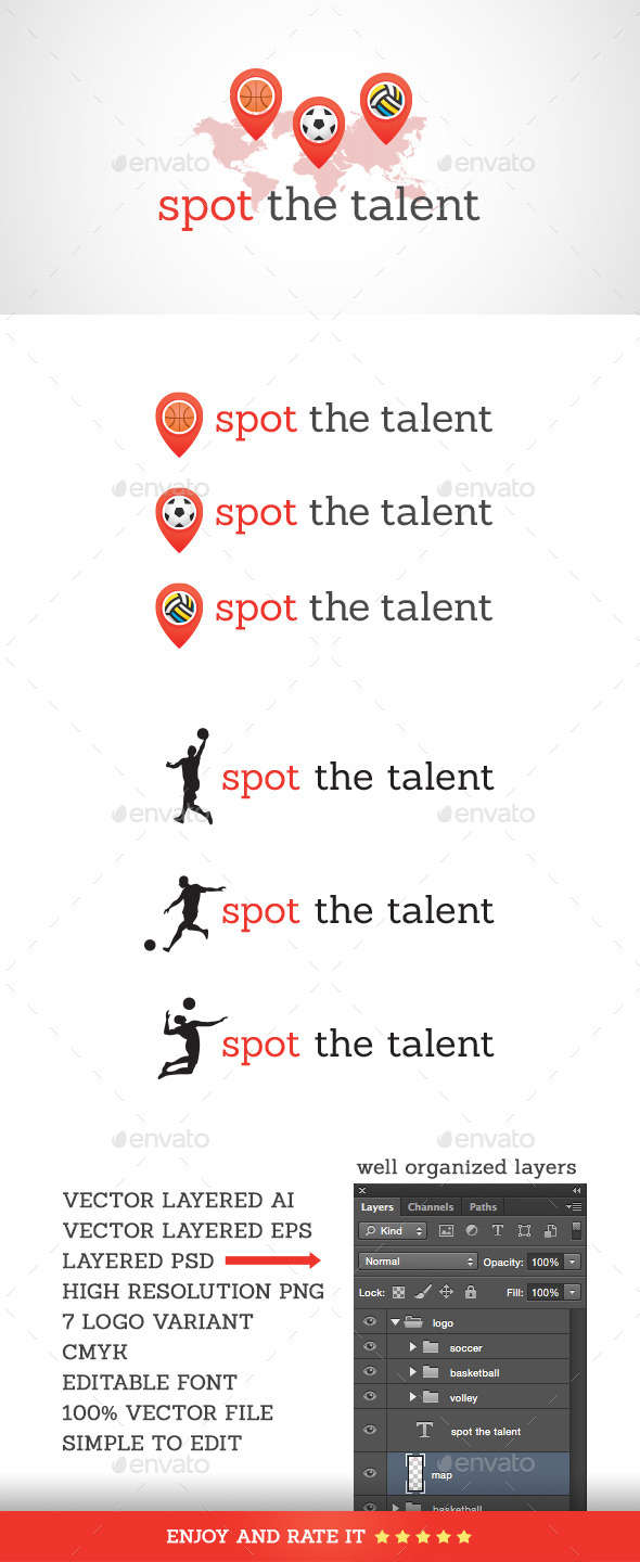 GraphicRiver Spot the Talent 11109563
