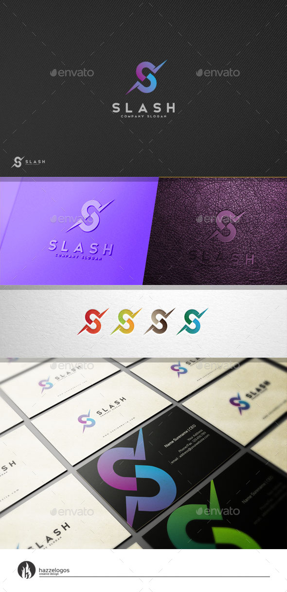 GraphicRiver Slash Logo 11109824
