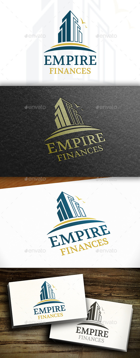 GraphicRiver Empire Logo Template 11109829