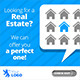 Real Estate Flat Web & Facebook Banners Ads - GraphicRiver Item for Sale