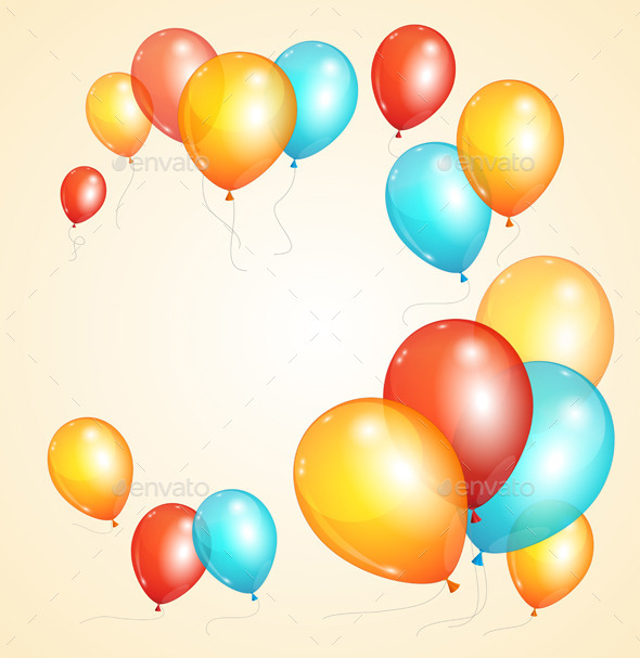 GraphicRiver Balloon Card 11110249