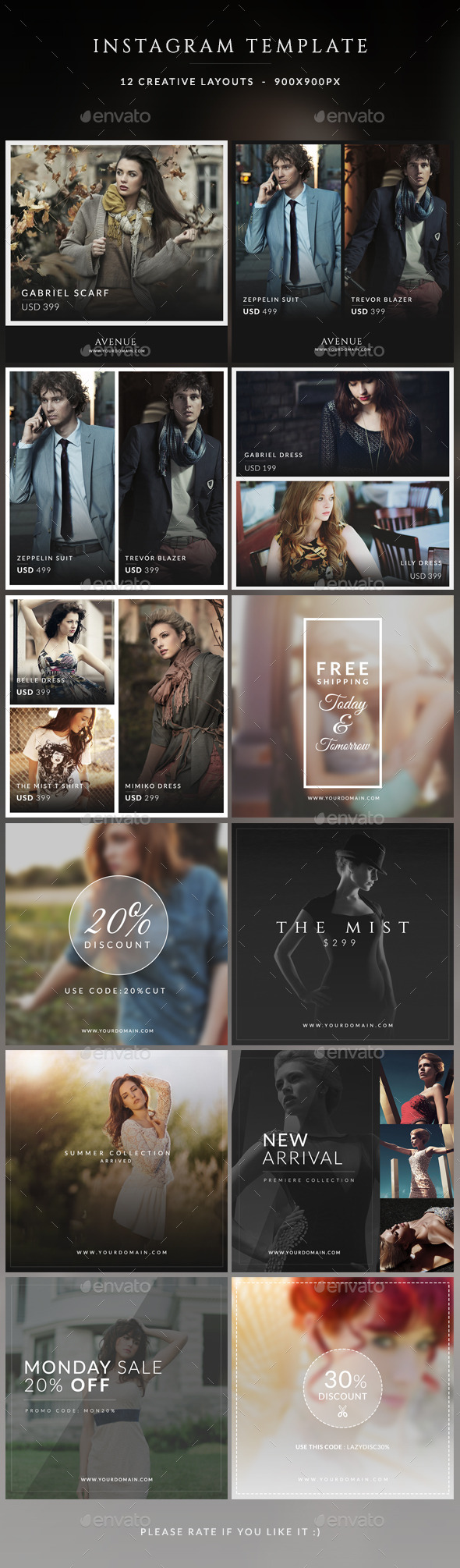 GraphicRiver Instagram Promotions Banner 11110303