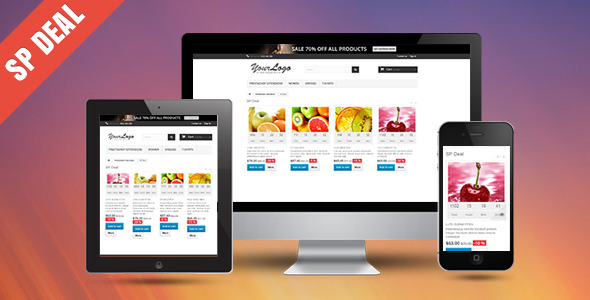 CodeCanyon SP Deal Responsive Prestashop Module 11110414