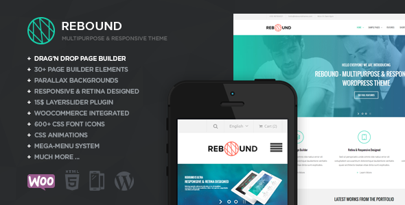 Rebound - Responsive Multipurpose Retina Theme - Business Corporate