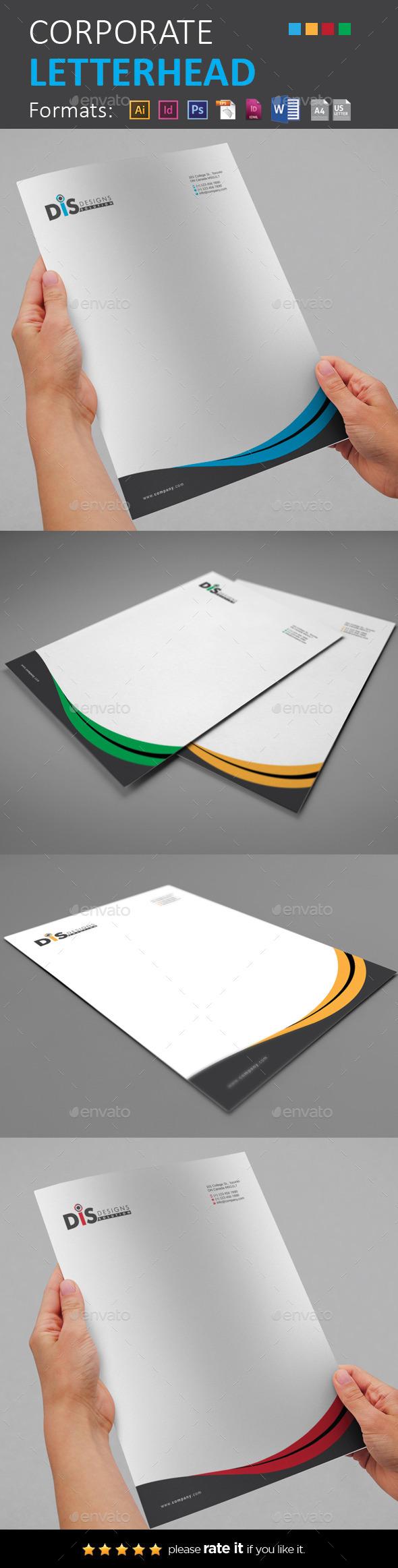 GraphicRiver Letterhead 11110788