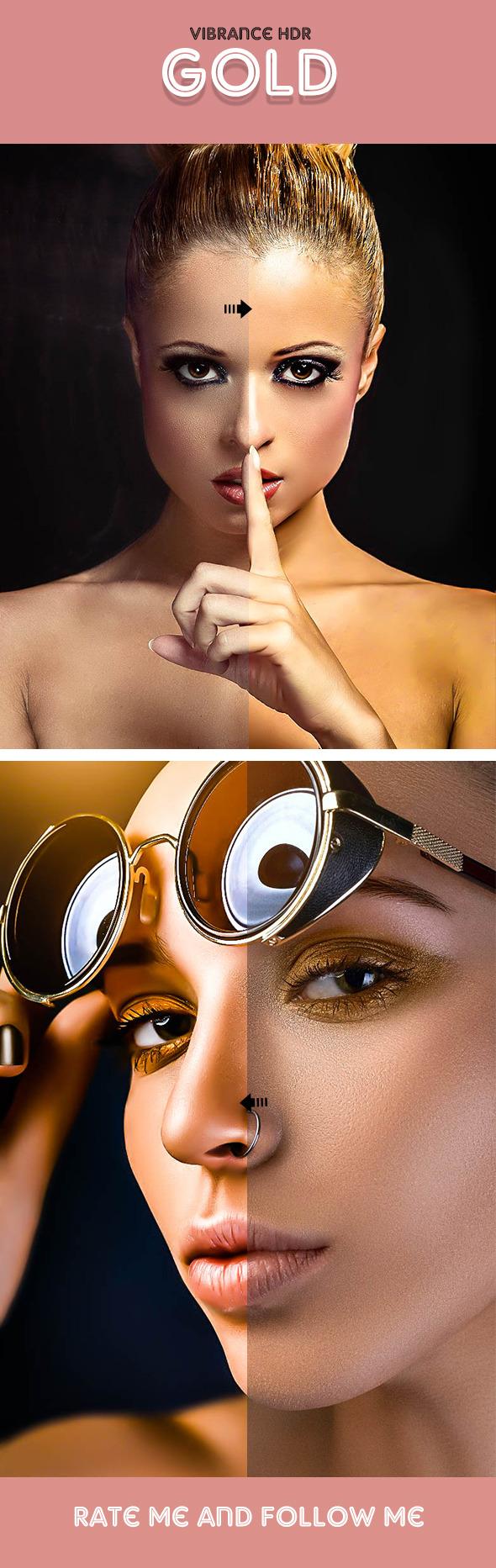 GraphicRiver Vibrance HDR Gold Lightroom Preset 11110881