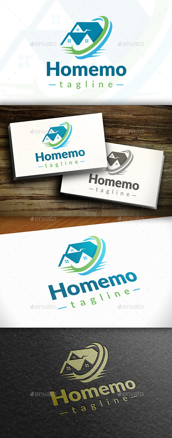 GraphicRiver Home Movers Logo 11111479